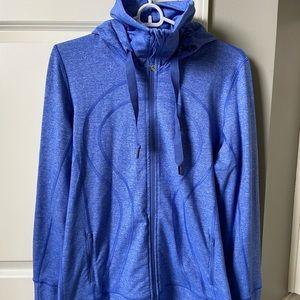 Lululemon Blue Hooded Jacket Size 12